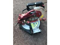 Rexon M2500A mitre saw 240V with UK plug in very good condition