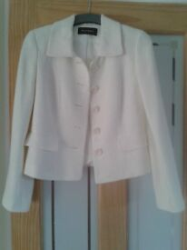 Cream jacket by Planet size 8