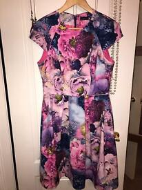 Warehouse floral dress