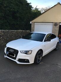 REDUCED QUICK SALE Audi A5 Huge specification 2.0Ltr Fastback four doors under 13000 miles bargain