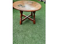 Occasional wooden side table