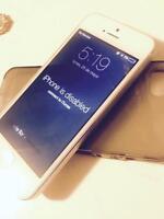iPhone 5s . (iCloud blocked - bloquer avec iCloud)