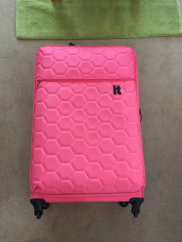 Brand new pink ultra light IT suitcase L/XL luggage | in Patchway ...