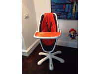 Loop Highchair Mama & Papas/ Great Condition/ Very Versatile baby to toddler chair