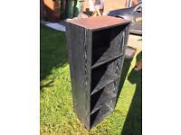 Black Wooden Bookcase