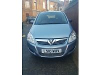 Vauxhall Zafira 1.9 Exclusive 130bhp, Full Service History, Excellent Condition
