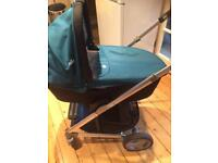 JOIE CHROME 3 in 1 TRAVEL SYSTEM