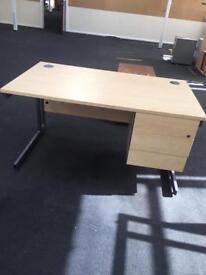 Office desks.