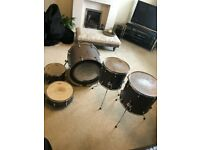 Mapex Mars Series 5-Piece Crossover Shell Pack in Smokewood Finish