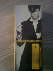 Paco Rabanne 1 Million 100ml aftershave. Brand new in box and sealed.