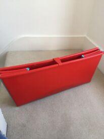 Red flexi bath
