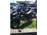 Zontes 50cc motorbike only 150 miles ,one owner bike