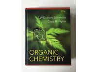 Organic Chemistry - Harcover by SOLOMONS & FRYHLE, 9th Edition