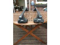 Thule Rapid Fit Roof Bars for a Citreon Berlingo van, Xsara Picasso MPV Peugeot Partner, Ranch van