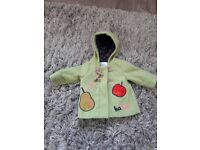 3-6 month Next girls duffel coat