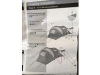 Pro action 6 man tent