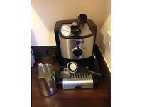 Jack Stonehouse coffee machine