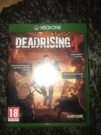 Xbox One Deadrising 4 game