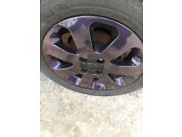 Ultra purple magic Alloys wheels