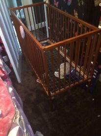 Baby cot for sale - used
