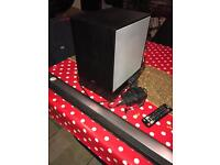 LG Sound Bar 300w Wireless Subwoofer Bluetooth In Perfect Condition