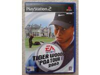 PS2 - Tiger Woods PGA Tour 2003