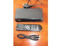 BUSH DIGITAL SET TOP BOX - REMOTE CONTROL - TV CABLE