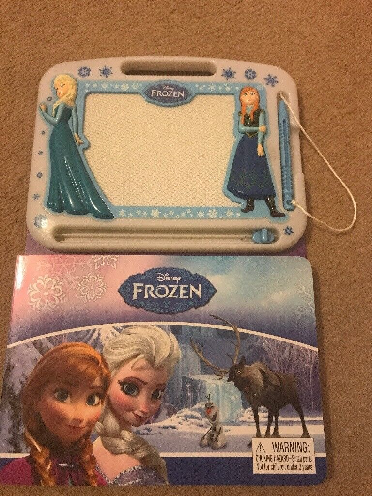 Frozen puzzle book and scribbler book