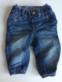 New H &M jeans - fully lined 4-6 months