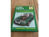 Haynes Ford Fiesta manual - 1995 to 2002 (N to 02 reg)