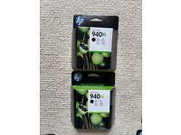 HP genuine ink cartridges 940XL 950XL 951XL all new