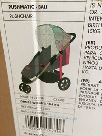 Brand-new never opened koochi Bali pushchair