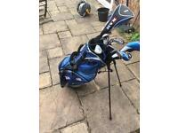 RAM golf clubs and bag