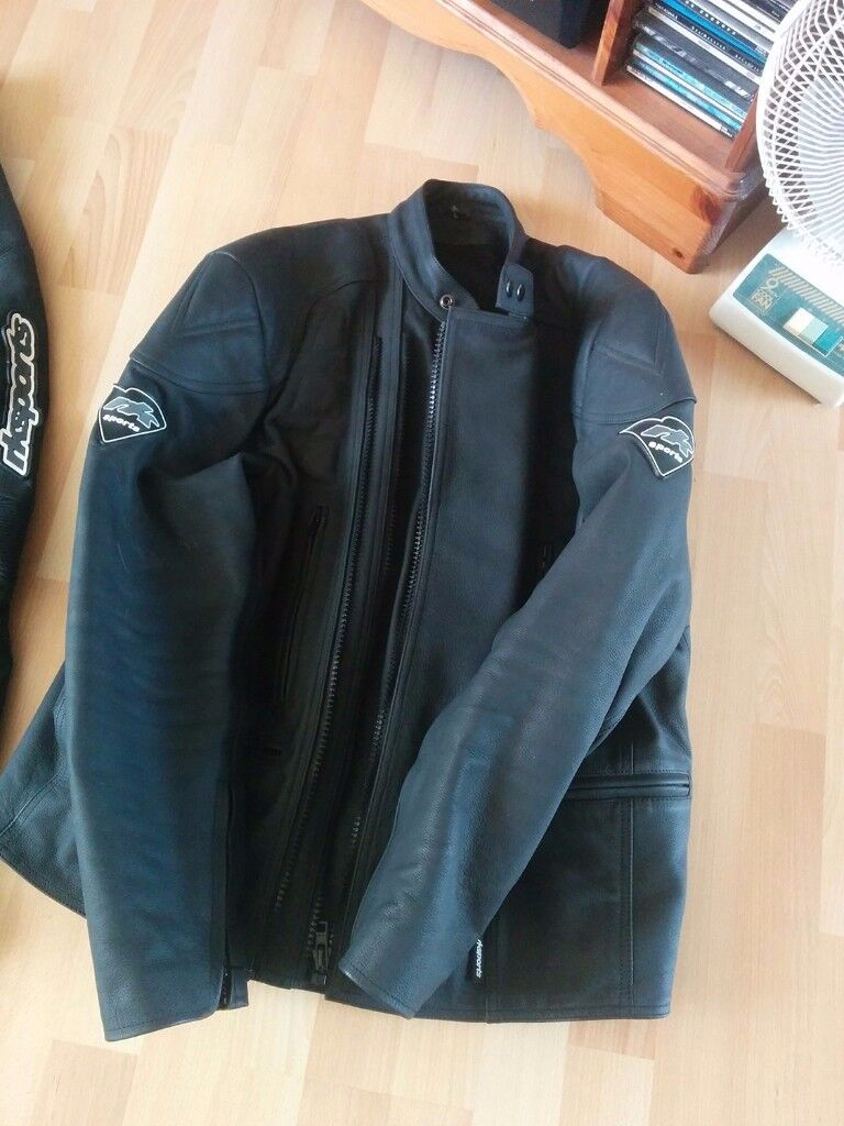 Two Piece Leathers Like New, Jacket + Trousers