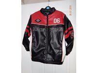 Children biker style jacket, aged 11/12