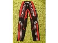 Trials trousers small/medium
