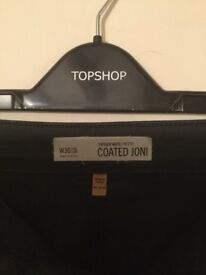 Top Shop Leather look trousers! Also Black jumpsuit!