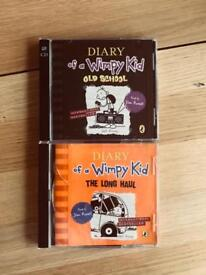 Diary of a Wimpy Kid CD x2