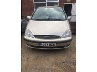 2004 54 PLATE FORD GALAXY 2.3 PETROL AUTOMATIC 136,000 MILES
