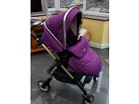 Silver cross purple pram immaculate
