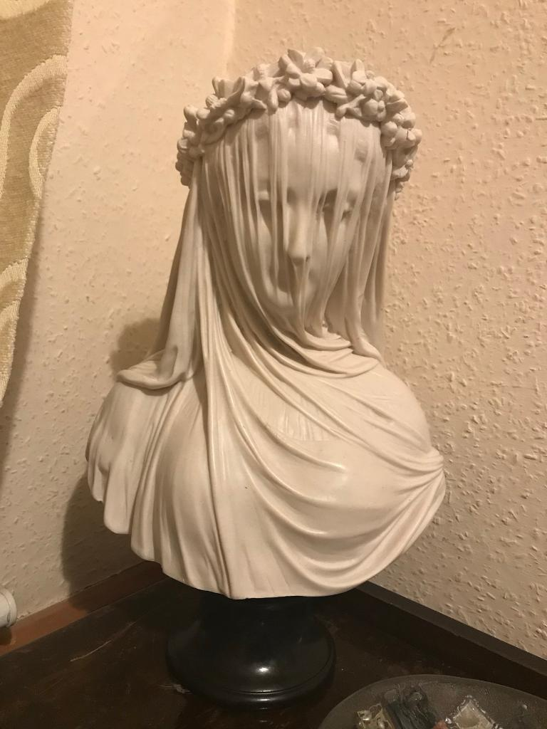 Veiled Lady Bust Statue In Maltby South Yorkshire Gumtree