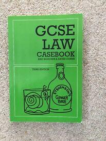 GCSE LAW CASEBOOK