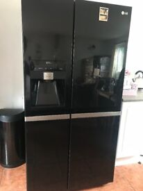 LG American style fridge freezer