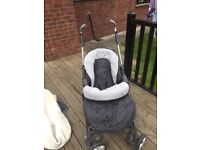 BARGAIN only £45 - Silver cross pram system with all accessories only £40 limited edition style