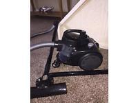 Bagless cyclonic 1200 watt cylinder vacuum