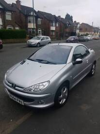 STUNNING 206CC 1.6 ALLURE LOW MILEAGE SAME FAMILY OWNED FROM NEW