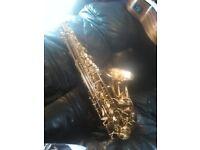 Rosetti series 5 saxophone used but in Fantastic conditien