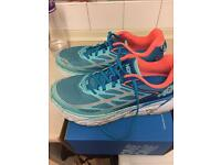 Hoka Clifton 3 One One ladies running shoes size 8