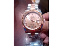 SWISS ROLEX TWO TONE DATE JUST ROSE GOLD STUNNING
