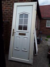 Upvc door complete